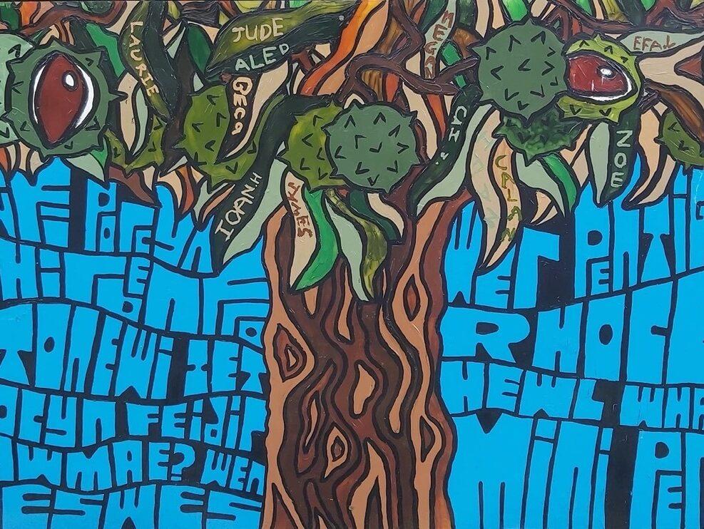 Eglwyswrw school mural
